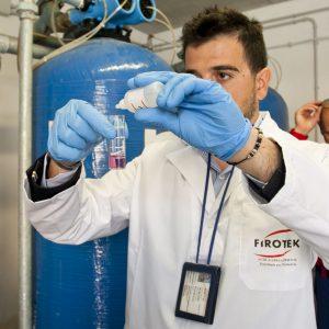 sanificazione dell'acqua a rischio di Legionella